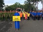 """LĐLĐ Quận 11 tham gia """"Hội thao truyền thống kỷ niệm 72 năm ngày thành lập Quân Đội Nhân Dân Việt Nam""""."""