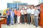 LĐLĐ Q.11 thăm hỏi, chúc mừng Bệnh viện và Trung tâm Y tế dự phòng Q.11 nhân ngày Thầy thuốc Việt Nam 27/02/2017.