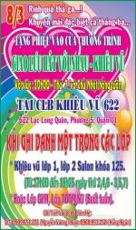 Chào mừng Quốc tế Phụ nữ 8/3, Nhà Văn hóa Lao động quận 11 ưu đãi đặc biệt cho anh chị học viên.