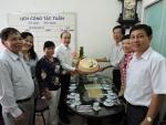 Ban thường vụ LĐLĐ quận 11 tổ chức đoàn đến chúc mừng Công đoàn Giáo dục quận 11 nhân kỷ niệm ngày Nhà Giáo Việt Nam 20/11.