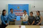 Lễ trao quyết định thành lập CĐCS Công ty TNHH Cánh Cung.
