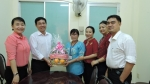 LĐLĐ Q.11 tổ chức thăm và chúc mừng Phòng Giáo dục và Đào tạo Q.11 nhân kỷ niệm 35 năm ngày Nhà Giáo Việt Nam (20/11/1986 - 20/11/2017).